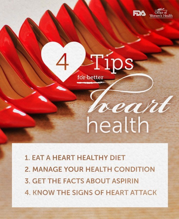 4 Tips for Better Heath Health #February #NationalHeartMonth