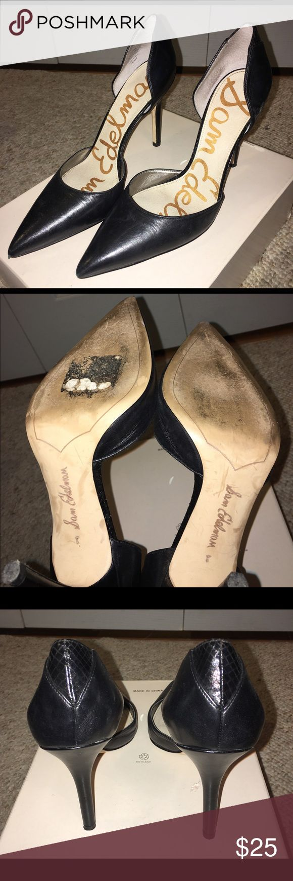 Sam Edelman heels Great shoes 👠for any occasion . Merry Christmas 🎁🎄 Sam Edelman Shoes Heels