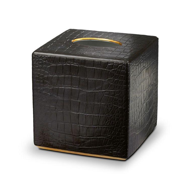 Lobject crocodile tissue box