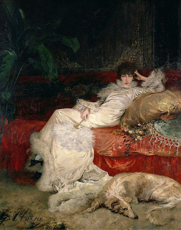 Georges Clairin: Sarah Bernhardt, - Google Search