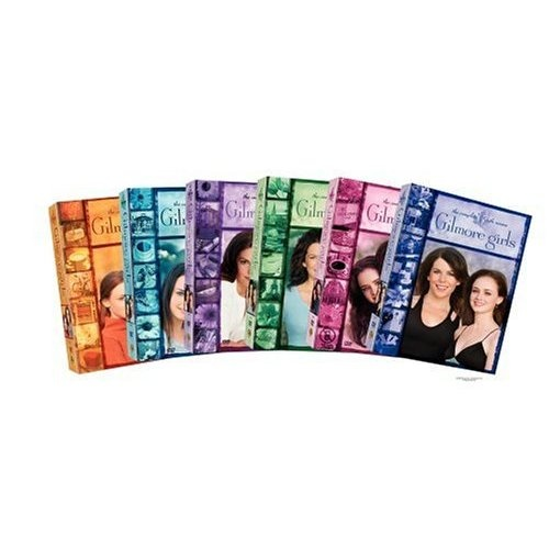 Gilmore Girls Box sets..I own them all;)