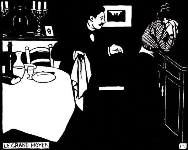 Felix Valotton dessins (2)