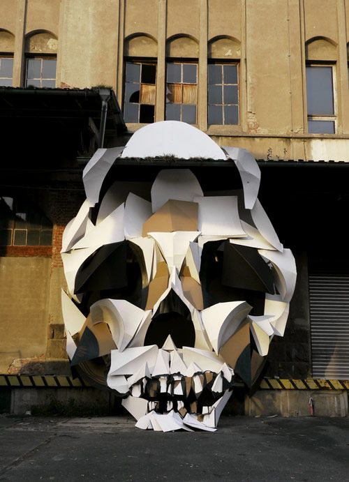 Clemens Behr cardboard art