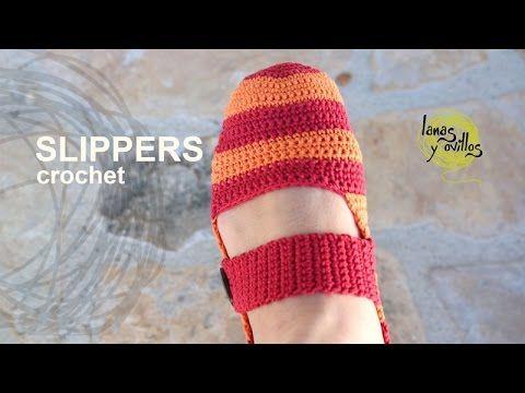 Slippers | Lanas y Ovillos