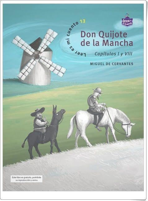 Don Quijote de la Mancha (Capítulos I y VIII) de Miguel de Cervantes Saavedra
