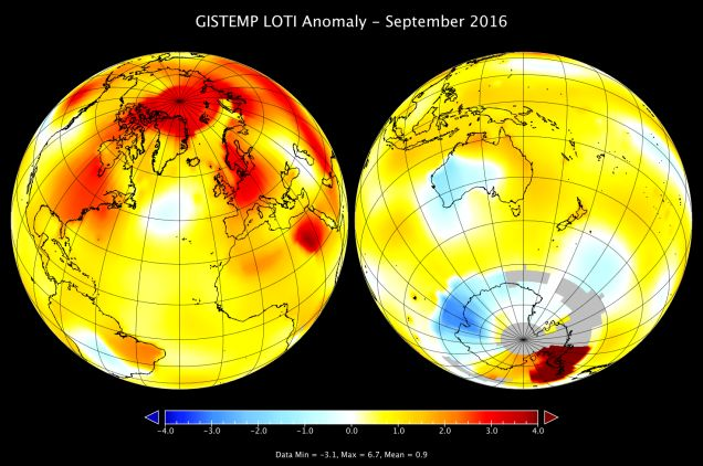 NASA Already Says 2016 Will Be the Hottest Year on Record #news #trends