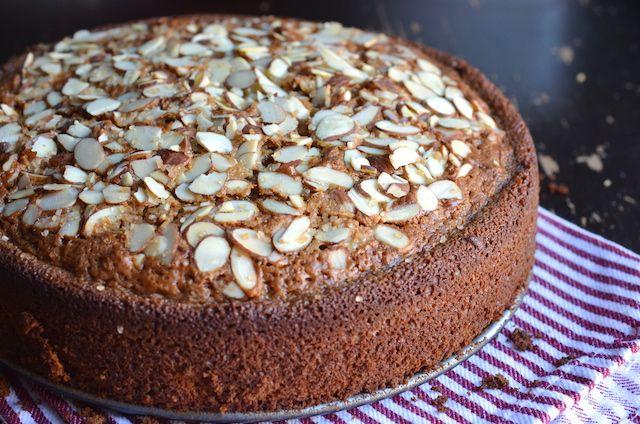 Almond Pound Cake Using Almond Paste