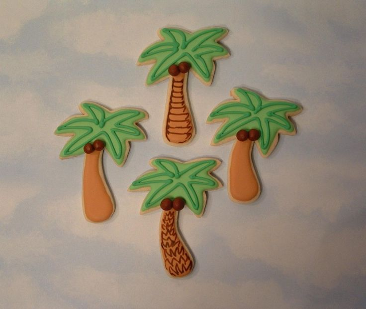 images of palm tree cookies | Palm Trees — Cookies!