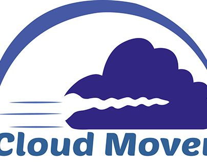 """Check out new work on my @Behance portfolio: """"Logo - Cloudmover"""" http://on.be.net/1G4UIv5"""