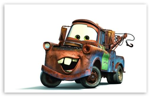 Tow Mater Cars Movie wallpaper