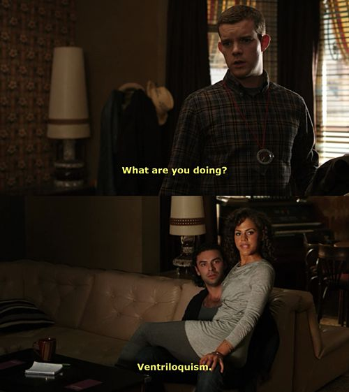 Being Human UK - Lol! This is the best excuse/explanation! I absolutely LOVE Mitchell and Annie together!