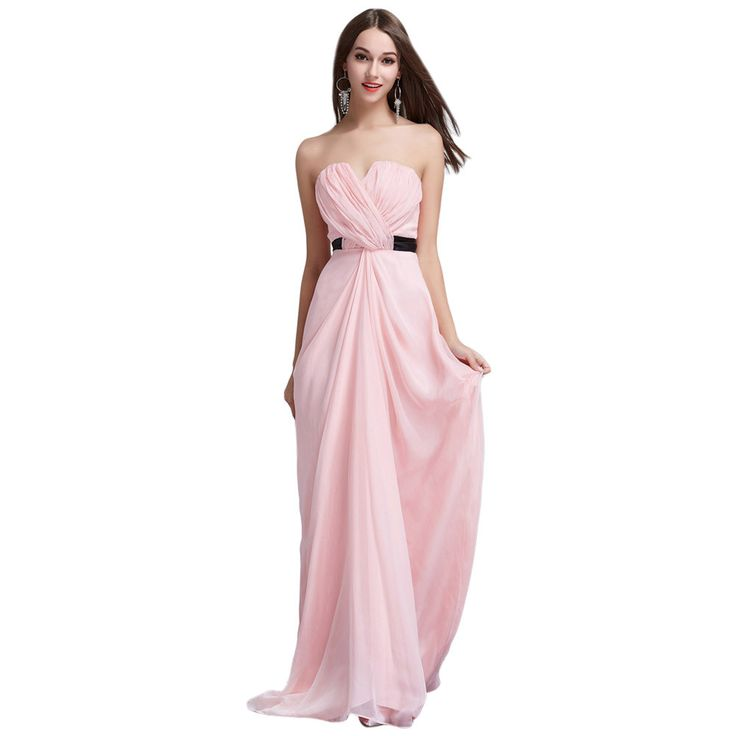 Elegant Tube Floor Long Dress For Women Sexy High Waist Backless Evening Party Vestidos Sweet Pink Maxi Dresses
