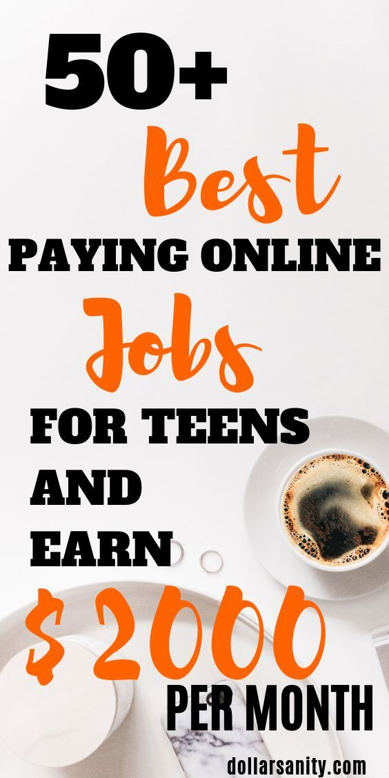 Online jobs for kids. There are like a zillion ways for teens to make money. Her… – Business/Entrepreneurship