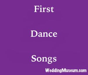 first dance songs for the bride and groom's first dance together as a married couple #first #dance #songs