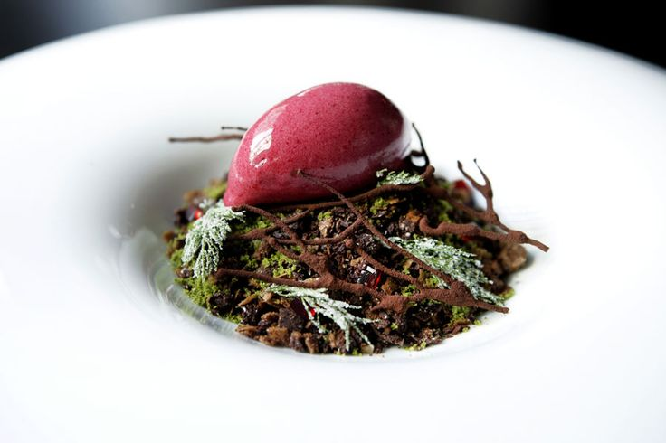 """Winter Chocolate Forest"" - Sepia Restaurant, Sydney!"