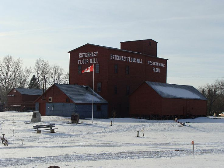 Esterhazy Flour Mill, Canada