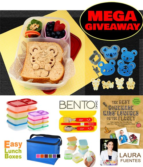 Lunch Packer's Dream Giveaway   CuteZCute Bento Fun Lunch Cutters, Egg Molds, and Bento Boxes