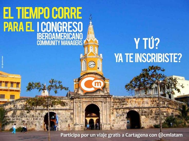 Congreso Iberoamericano Community Managers 2012 Torre del reloj en Cartagena