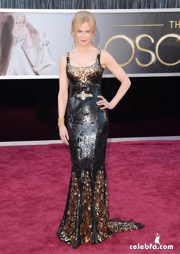 Nicole Kidman Oscars 2013 Red Carpet