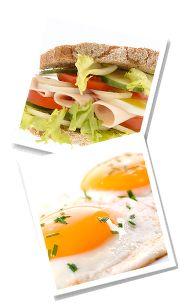 Alternative zu deftigem Frühstück