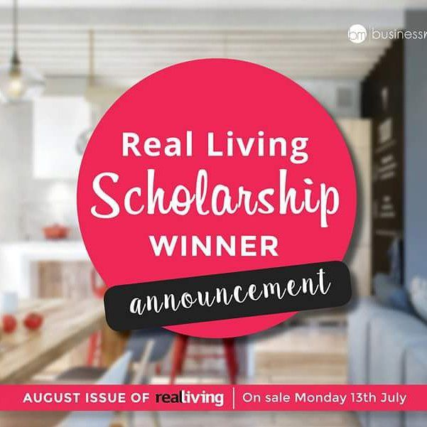 Grab your copy of @reallivingmag on Monday the 13th of July to find out the winner of our scholarship!  So many great candidates but we could only have one winner... #businessmama  #business #mum #stayathomemum #workingmum #scholarship #reallivingmag
