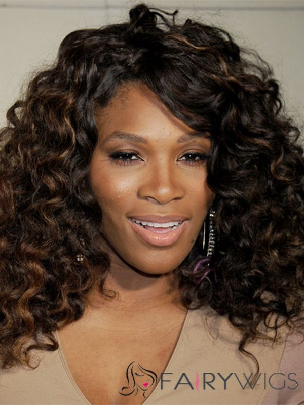 serena williams new hair style alluring serena williams hairstyle medium curly lace 8583