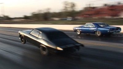 MURDER NOVA (Street Outlaws) vs The Goat – INSANE Triple Wheelie! By far one of my favorite street races to watch. That Nova is a beast