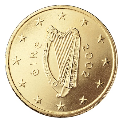 Ireland 50 Cent Coin