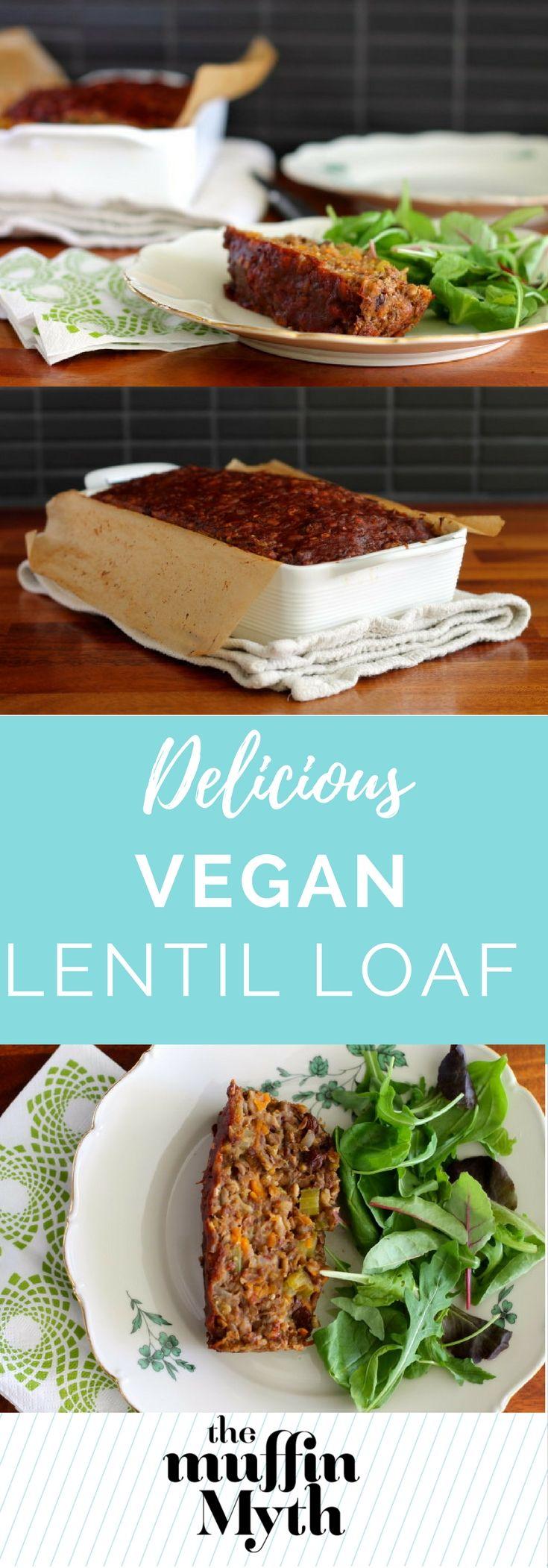 lentil loaf {vegan} - The Muffin Myth