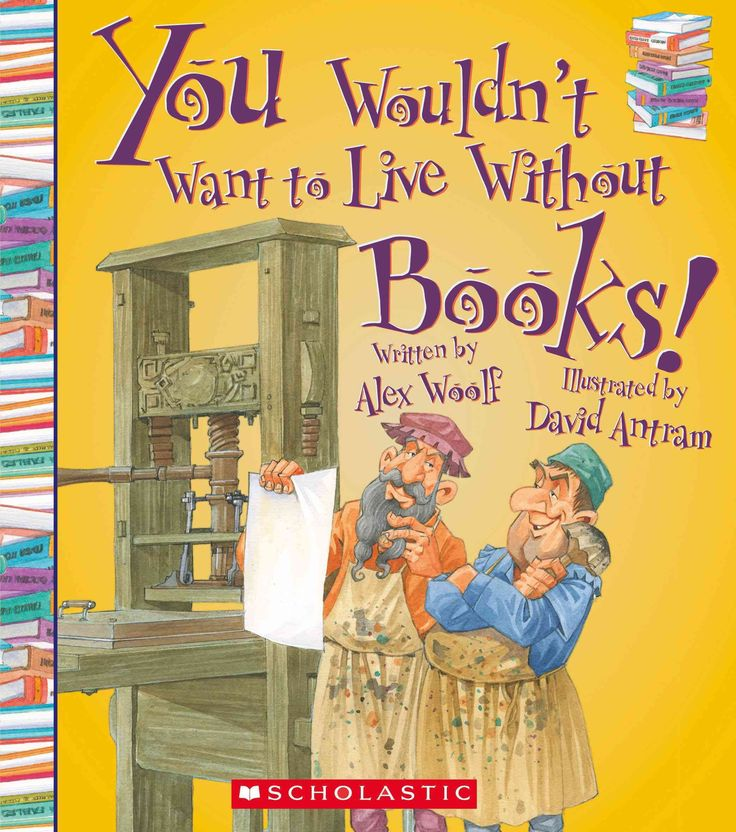 Uses humor in both text and illustrations to describe the history of books and how important they have been to civilization.