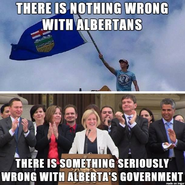There is nothing wrong with Albertans...