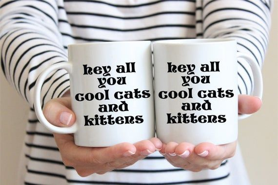 Carole Baskin Coffee Hey All You Cool Cats And Kittens Tiger King Gifts Carole Baskin Tiger King Coffee Mug C In 2020 Wedding Party Cards King Gifts Wedding Essentials
