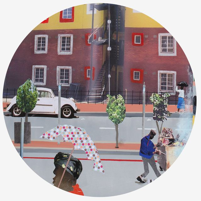 Sam Nhlengethwa, '12 Artists. 12 Plates. 1 Humanitarian Cause. ,' 2014, Orange Babies