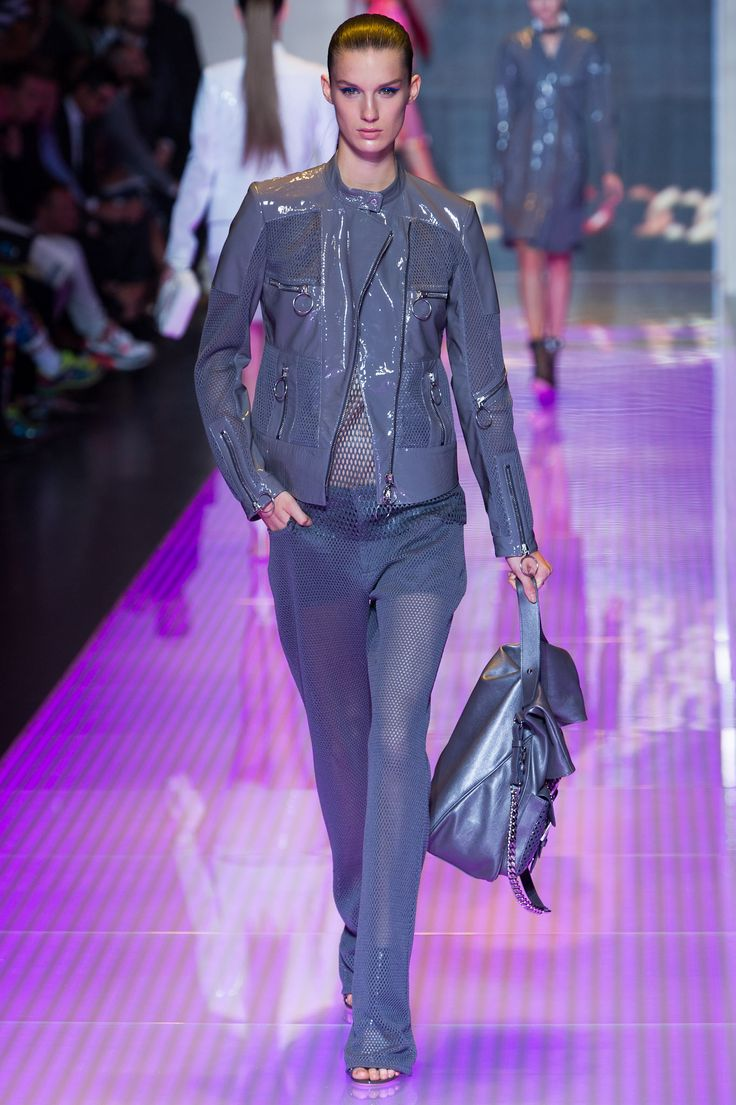 waterproof down jacket Versus Versace Spring 2013 Ready to Wear Collection Photos   Vogue