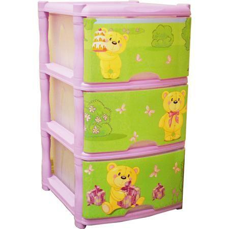Little Angel Комод для детской комнаты Bears Tutti 3 ящика, Little Angel, лавандовый  — 1799р.  Комод для детской комнаты Bears Tutti 3 ящика, Little Angel, лавандовый ‒ это детская мебель от отечественного производителя . Комод изготовлен из экологически безопасного материала ‒ полипропилена, который обеспечивает легкость конструкции, прочность, устойчивость к физическим и химическим воздействиям. Окраска комода обладает высокой устойчивостью цвета к внешним воздействиям. Комод для детской…