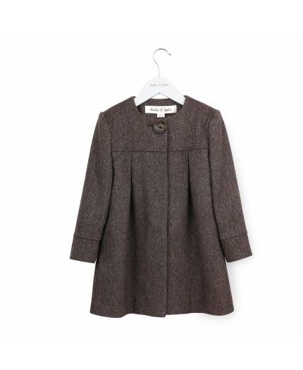 We love this girly 'Margot' coat hand-made from an italian cashmere.. Limited edition! www.ameliesophie.com
