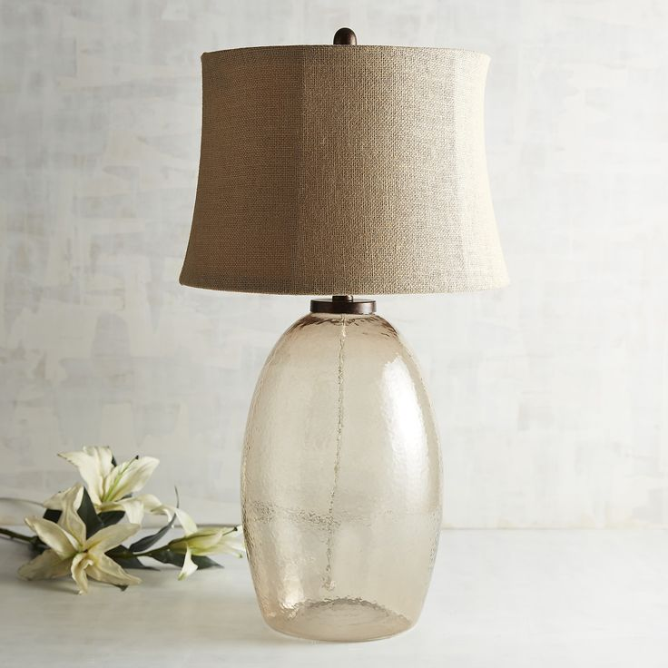 Amber Madigan Table Lamp   Toast   Acrylic