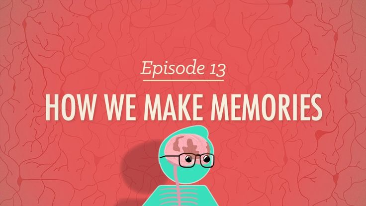 How We Make Memories - Crash Course Psychology #13