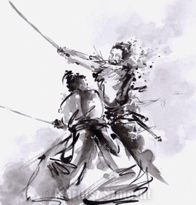 les 59 meilleures images concernant dessins arts martiaux