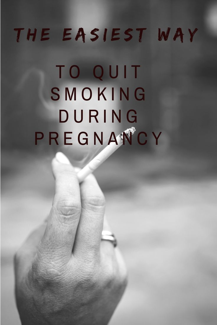 Quit smoking now the easiest way to quit smoking during pregnancy