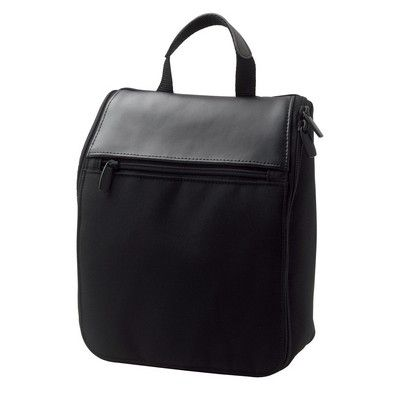 Madison Leather Toilet Bag Min 25 - Bags - Accessories Bags - IC-D8881 - Best Value Promotional items including Promotional Merchandise, Printed T shirts, Promotional Mugs, Promotional Clothing and Corporate Gifts from PROMOSXCHAGE - Melbourne, Sydney, Brisbane - Call 1800 PROMOS (776 667)