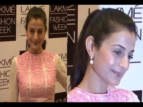 Ameesha Patel @ LAKME FASHION WEEK 2014.