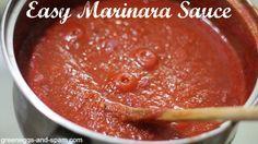 Easy Marinara Sauce http://cookinginbliss.com/easy-marinara-sauce/ #recipes