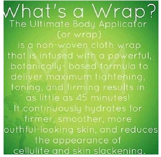 ITWORKS BodyWrap interested?  Contact me at loramiller@insightbb.com com or check out my website at: https://itworkswithlora.myitworks.com