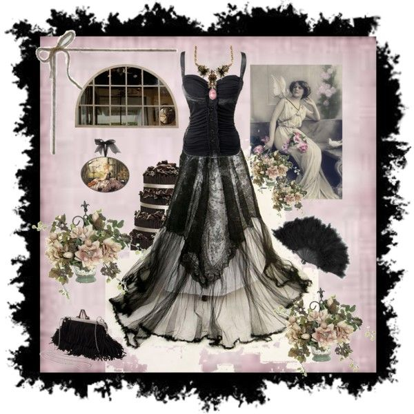 """""""Black Beauty"""" by georgialynns on Polyvore"""