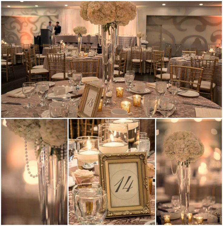 Classic wedding with romantic details in soft tones of cream, blush, peach, taupe and gold.