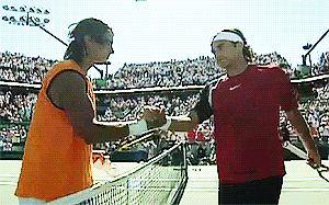 Roger Federer and Rafael Nadal » ATP Masters 2005