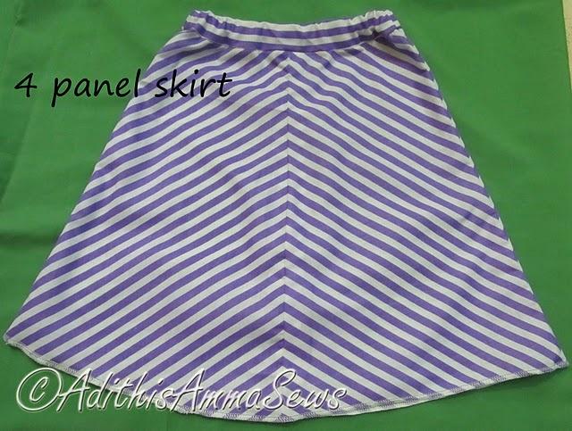 Panel Skirt Tutorial - Sew Skirts September