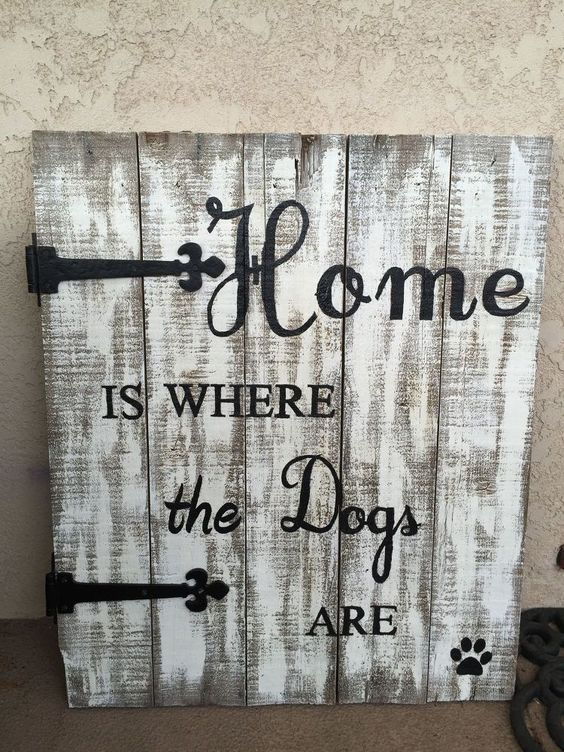 Old Pallet Gets Repurposed To Cool Porch Sign. Be creative with what your sign says!:
