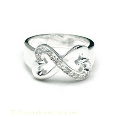 Tiffany  Co Outlet Paloma Picasso Double Loving Heart Ring. Absolutely love this!